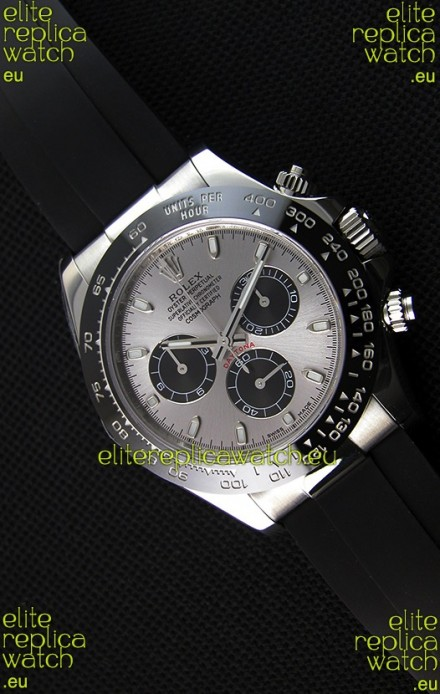 Rolex Cosmograph Daytona 116519LN Steel and Black Dial Original Cal.4130 Movement - Ultimate 904L Steel Watch