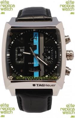 Tag Heuer Monaco Concept 24 Swiss Replica Watch in Black Dial