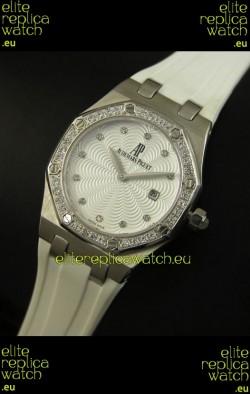 Audemars Piguet Royal Oak Ladies Quartz Replica Watch in Steel Case