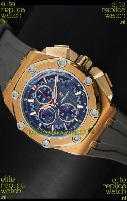 Audemars Piguet Royal Oak Offshore Michael Schumacher Quartz Movement in Rose Gold