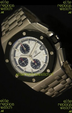 Audemars Piguet Royal Oak Offshore Watch in White Dial - Steel Case