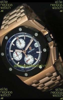 Audemars Piguet Royal Oak Offshore Watch in Pink Gold Case