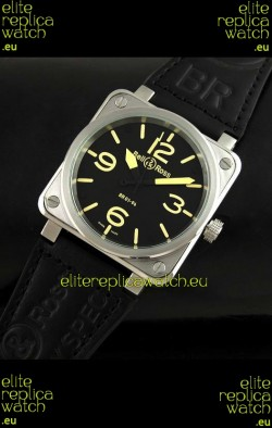Bell and Ross BR01-94 Swiss Watch in Black Dial