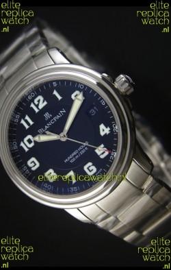 Blancpain Leman 2100 Military 100 Hours Watch in Black Dial - Original Citizen Movement