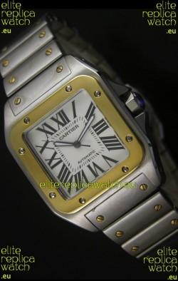 Cartier Santos 100 Swiss Watch 38.5MM - 1:1 Mirror Ultimate Replica