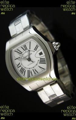 Cartier Roadster Swiss Replica Watch Stainless Steel - 38MM Wide