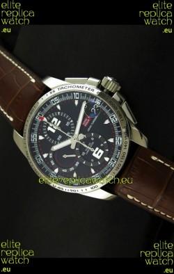 Chopard Mille Miglia GT XL Swiss Replica Watch in Brown Leather Strap - MIRROR REPLICA