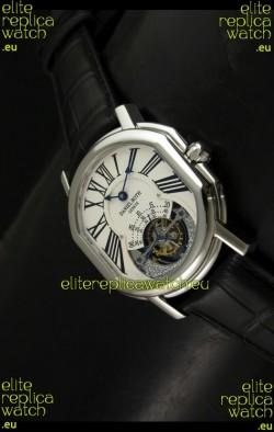 Daniel Roth Daniel Roth Tourbillon Swiss Watch in White Dial