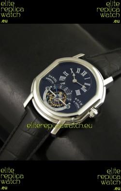 Daniel Roth Classic Tourbillon Swiss Watch in Black Dial