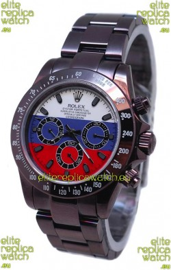 Rolex Daytona Chronograph Multicolors Japanese Replica PVD Watch