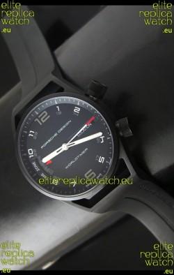 Porsche Design P6750 WorldTimer DLC Swiss Replica Watch