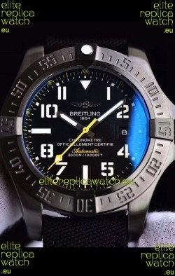 Breitling Avenger II Seawolf Airblack Swiss Replica Watch 1:1 Ultimate Swiss Replica Watch