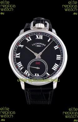 Chopard Louis-Ulysse The Tribute Stainless Steel Black Dial Swiss Watch