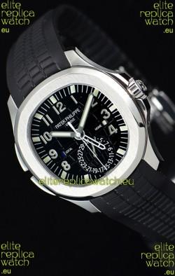 Patek Philippe Aquanaut 5164A 1:1 Mirror Watch Black Dial