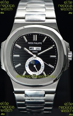Patek Philippe Nautilus 5726A 1:1 Mirror Swiss Watch Black Dial