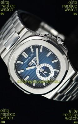Patek Philippe Nautilus 5726A 1:1 Mirror Swiss Watch Blue Dial