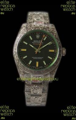 Rolex Milgauss 116400 MadeWorn Swiss Replica Watch