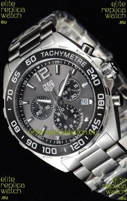 Tag Heuer Formula 1 Chronograph Swiss Quartz Replica Watch Anthracite Dial
