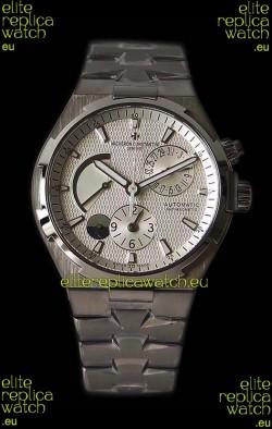 Vacheron Constantin Overseas Dual Time White Dial Swiss Watch