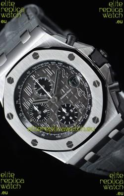 "Audemars Piguet Royal Oak Offshore Chronograph ""Elephant""  1:1 Mirror 904L Steel Watch"