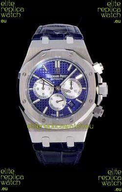 Audemars Piguet Royal Oak Chronograph Blue Dial 904L Steel 1:1 Mirror Replica