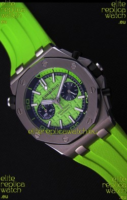 Audemars Piguet Royal Oak Offshore Diver Chronograph Swiss Quartz Replica Watch in Green
