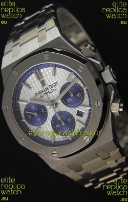 Audemars Piguet Royal Oak Chronograph White Dial Steel Strap Swiss Replica Watch