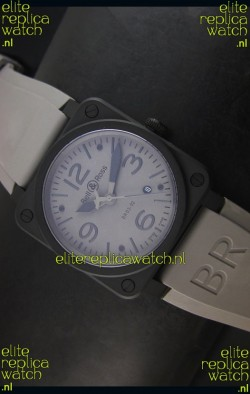 Bell & Ross BR03-92 Grey Dial Swiss Replica Watch