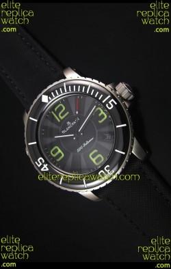 Blancpain 500 Fathoms Swiss Replica Watch in Grey Dial - 1:1 Mirror Edition