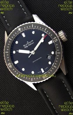 Blancpain Fifty Fathoms BATHYSCAPHE Titanium Edition Swiss Replica 1:1 Swiss Watch