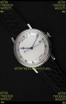 Breguet Classique 5177BB/15/9V6 Stainless Steel Watch with Roman Hour Markers
