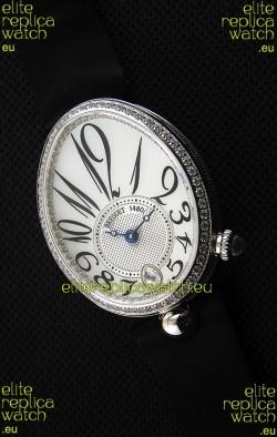 Breguet Reine De Naples Ladies Swiss 1:1 Stainless Steel Mirror Replica Watch