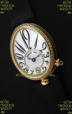 Breguet Reine De Naples Ladies Swiss 1:1 18K Yellow Gold Replica Watch
