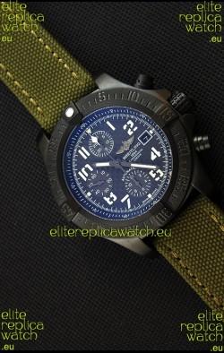 Breitling Avenger Titanium Case Swiss Replica Watch Carbon Dial 1:1 Mirror Replica Watch