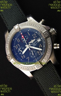 Breitling Avenger BANDIT Titanium Case Swiss Replica Watch Black Dial 1:1 Mirror Replica Watch