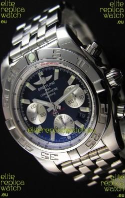 Breitling Chronomat B01 Black Dial Swiss Replica Watch 1:1 Mirror Replica Edition