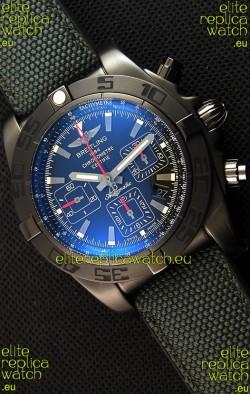 Breitling Chronomat 44 Blacksteel Swiss Replica DLC Coating 1:1 Mirror Watch