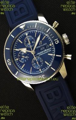 Breitling Superocean Heritage II Blue Dial 46MM 1:1 Mirror Swiss Replica Watch