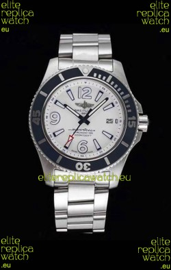 Breitling Superocean Automatic 44 Steel - White Dial 1:1 Mirror Replica