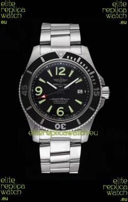 Breitling Superocean Automatic 44 Steel - Black Dial 1:1 Mirror Replica