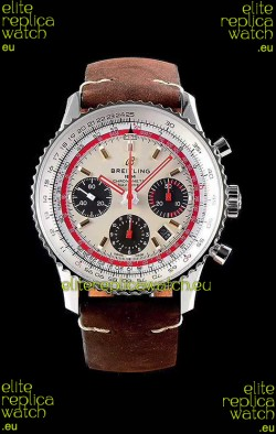 Breitling Navitimer 1 B01 Chronograph TWA Edition 43MM - 904L 1:1 Mirror Replica Watch