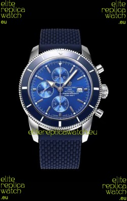 Breitling SuperOcean Heritage II 44MM Blue Dial Swiss Replica Watch