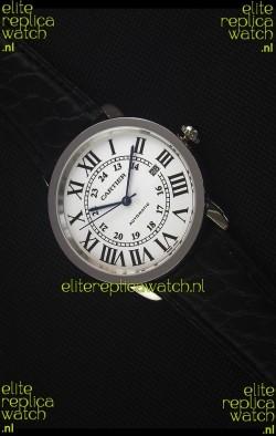 """Cartier """"Ronde De Cartier"""" Stainless Steel Case Watch"""