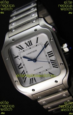 Cartier Santos De Cartier 1:1 Mirror Replica - 40MM Stainless Steel Watch