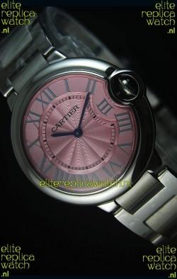 Ballon De Bleu Pink Dial Watch 36MM with Swiss Quartz Movement