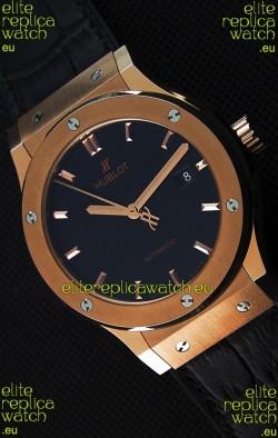 Hublot Classic Fusion King Gold Swiss Replica Watch - 1:1 Mirror Replica