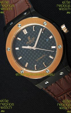 Hublot Classic Fusion Ceramic King Gold Swiss Replica Watch - 1:1 Mirror Replica