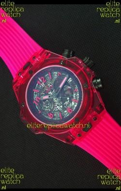 Hublot Big Bang Unico Red Sapphire Quartz Replica Watch 45MM