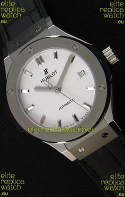 Hublot Big Bang Classic Fusion 38MM 1:1 Mirror Replica Watch White Dial
