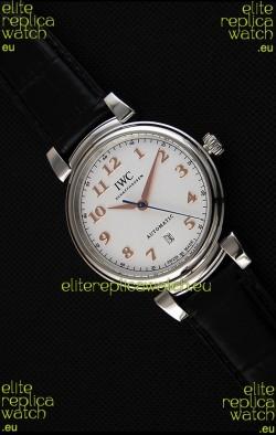 IWC Schaffhausen DA Vinci IW356601 Automatic Swiss Watch White Dial 1:1 Mirror Replica